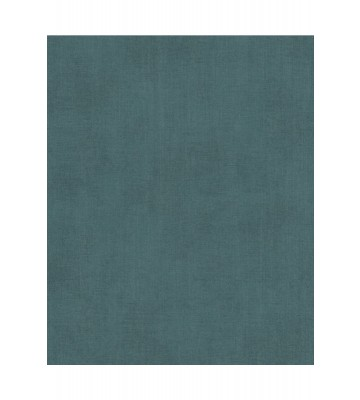 Eijffinger Vliestapete Reunited 372540 - Leinen Optik (Blaugrün)