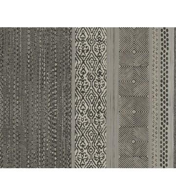 Eijffinger Vliestapete Siroc 376023 - Streifen (Schwarz/Weiß)