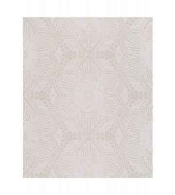 Eijffinger Vliestapete Siroc 376056 - indisches Blumenmuster (Weiß)