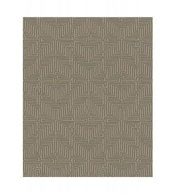 Eijffinger Vliestapete Siroc 376062 - Labyrinth Optik (Senf)