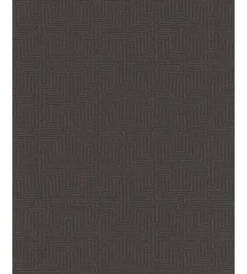 Eijffinger Vliestapete Siroc 376063 - Labyrinth Optik (Taupe)