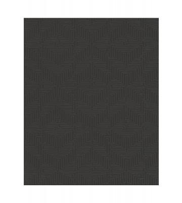 Eijffinger Vliestapete Siroc 376066 - Labyrinth Optik (Schwarz)