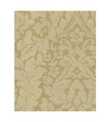 Eijffinger Vliestapete Stature 382541 - Barock Pflanzenmuster (Gold)