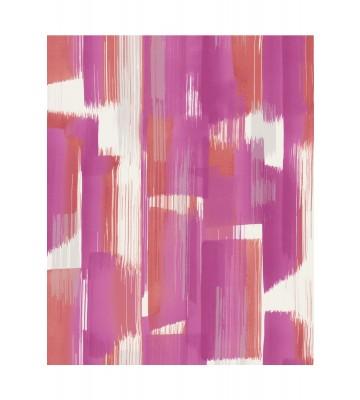 Eijffinger Vliestapete Stripes+ 377003 - breite Pinselstriche (Pink)