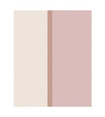 Eijffinger Vliestapete Stripes+ 377169 - Breite Streifen (Creme/Rosa)