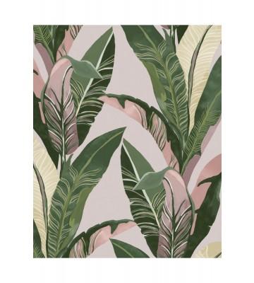 Eijffinger Vliestapete Vivid 384501 - Palmenblätter (Creme)