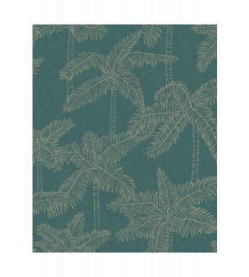 Eijffinger Vliestapete Vivid 384513 - Palmen (Grün)