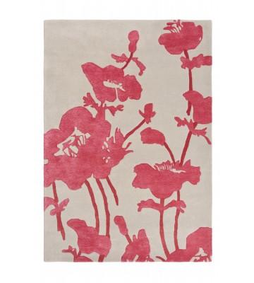 Florence Broadhurst Designerteppich Floral 300 - Rosa
