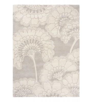 Florence Broadhurst Designerteppich Japanese Floral - Grau