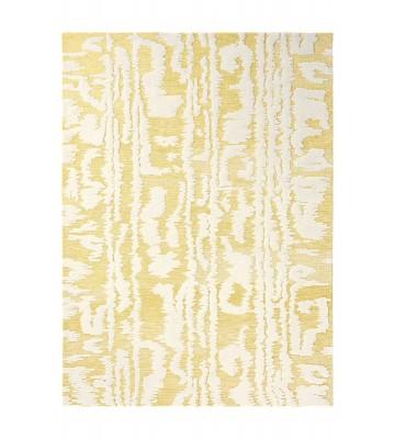 Florence Broadhurst Designerteppich Waterwave Stripe - Gelb