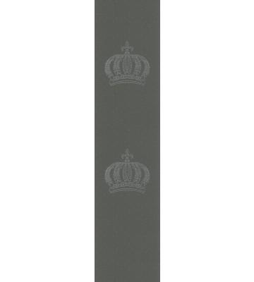 Glööckler Imperial 52709 - Strass Kronen Panel (Grau)