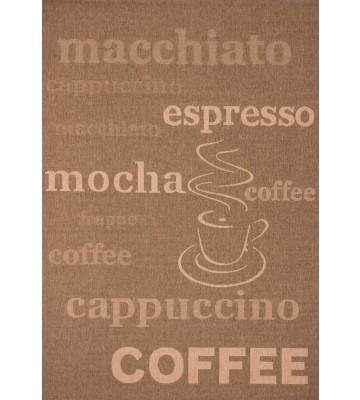 Küchenteppich Uppsala - Coffee - - Kaffee