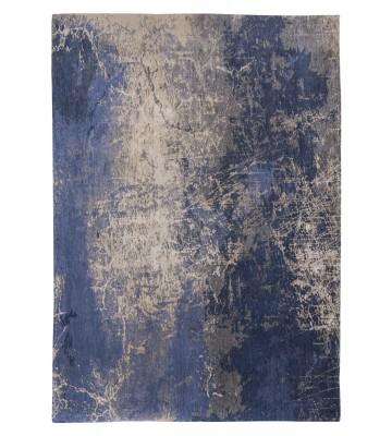 Louis de poortere Vintageteppich Cracks - Abyss Blue