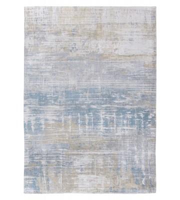 Louis de poortere Vintageteppich Streaks - Long Island Blue