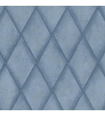 Marburg Vliestapete Platinum 31005 Raute (Jeansblau)