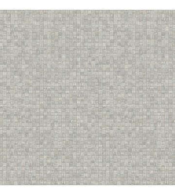 Marburg Vliestapete Platinum 31011 Mosaik (Hellgrau)