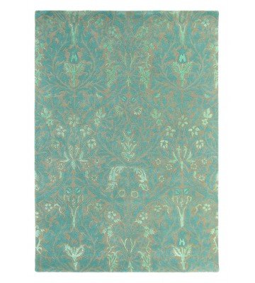 Teppich Autumn flowers - Blau