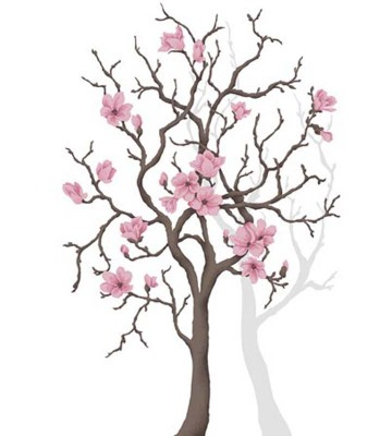 P0304014 Magnolia tree 180*265
