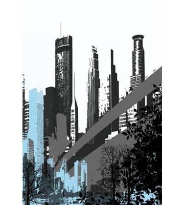 P0307014 City bridge 180*265