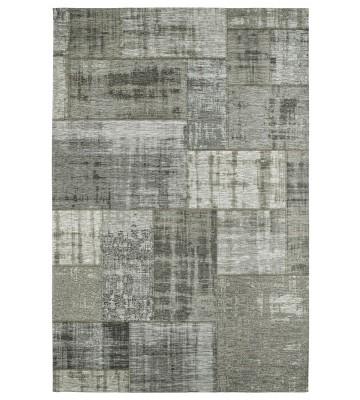 Jaquard Flachgewebe Teppich - Gent - Grau
