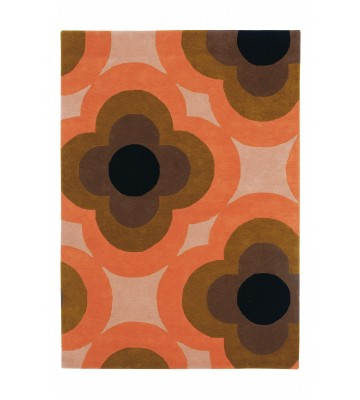 Orla Kiely Designerteppich Pulse Pink - Pink