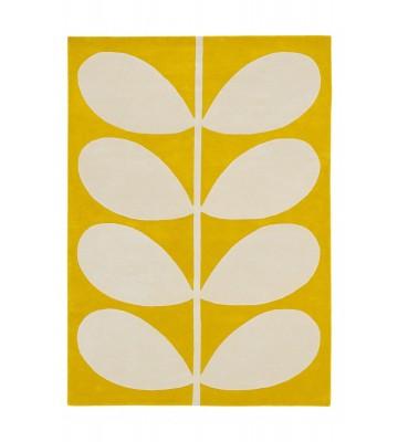Orlay Kiely Designerteppich Yellow Stem - Gelb