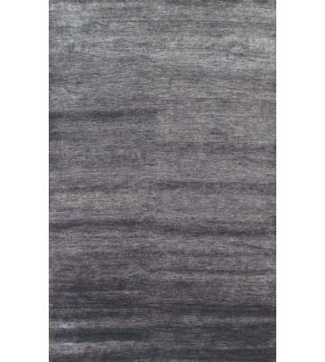 Bambusfaser Teppich Bamboo - Grau
