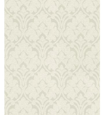 Rasch Textil Tapete Nubia 085098 - Ornamentmotiv (Beigegrau)