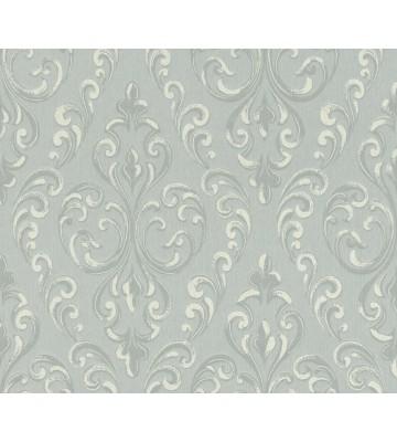 Rasch Textil Tapete Nubia 085159 - Ornamentmotiv (Blaugrau)