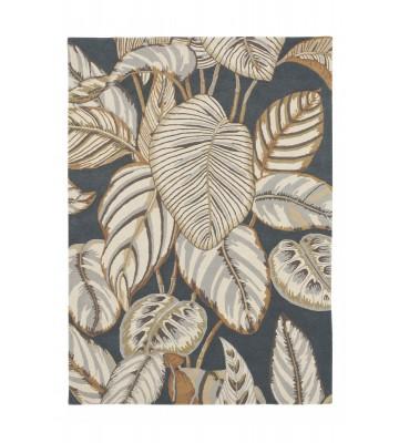 Sanderson Teppich Calathea 50805 - Charcoal