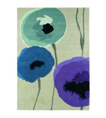 Sanderson Teppich Poppies - Lila