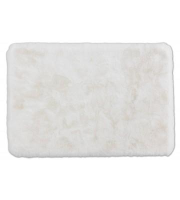 SCHÖNER WOHNEN Badematte - Bali Uni - Weiß