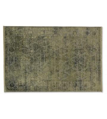 SCHÖNER WOHNEN Designteppich - Velvet Orient 194 - Olivgrün