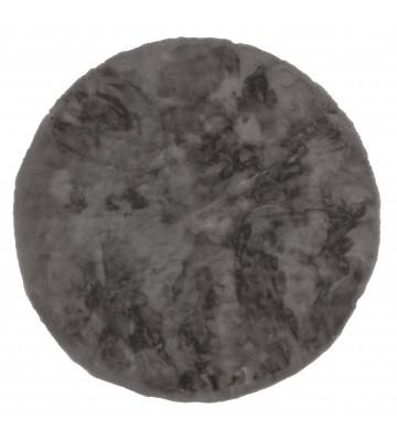Fell Teppich Grau : sch ner wohnen fell teppich tender rund grau von ~ Watch28wear.com Haus und Dekorationen