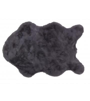 Schöner Wohnen Fell Teppich Tender - Shape (Anthrazit)