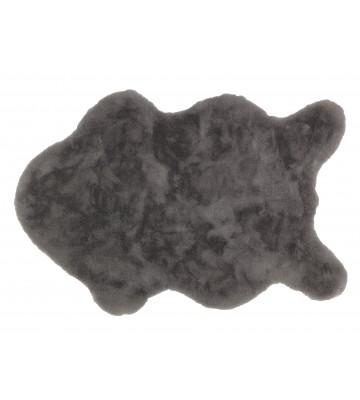 Schöner Wohnen Fell Teppich Tender - Shape (Grau)
