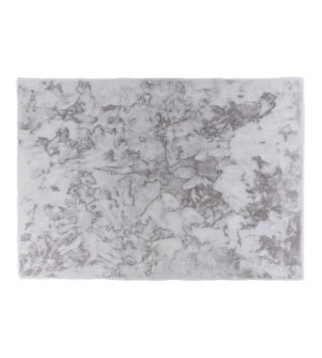 Schöner Wohnen Fell Teppich Tender - Silber