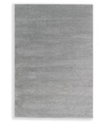 Schöner Wohnen Hochflor Teppich Pure - Silber