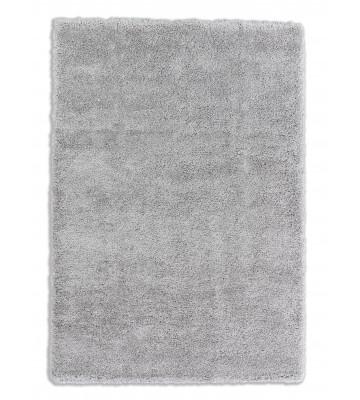 Schöner Wohnen Hochflor Teppich - Savage - Silber