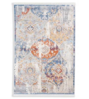 Schöner Wohnen Vintage Teppich Mystik - Ornament - Silber