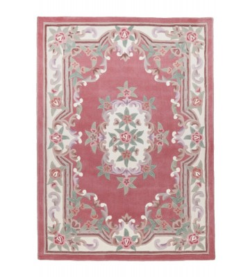 Aubusson Design Teppich Ming 501 - Rose