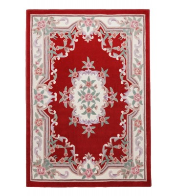 Aubusson Design Teppich Ming 501 - Rot