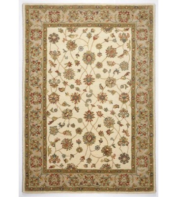 Bordürenteppich Royal Ziegler 503 - Cream Braun