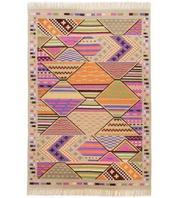 Ethno Teppich Kelus 6091 - Multicolor
