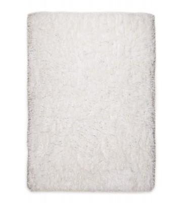 Hochflorteppich Flokato - Weiß