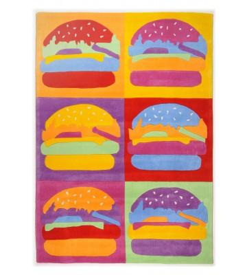 Kinderteppich Menorca Burger - Bunt
