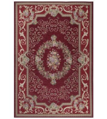 Klassischer Bordürenteppich Florentina - Rot
