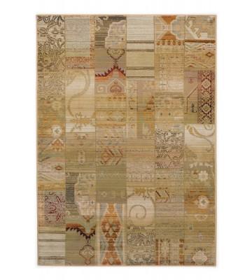 Patchwork Teppich Gabiro Des.5504 - Beige