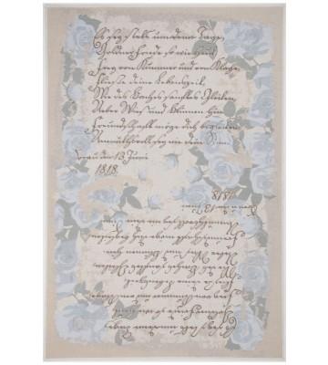 Romantischer Teppich Flomi Paris - Blau