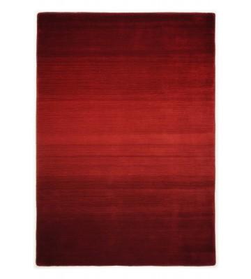 Schurwollteppich Wool Star Ombre - Rot